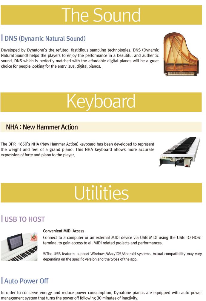 جزئیات پیانوی دیجیتال دایناتون مدل SLP-150