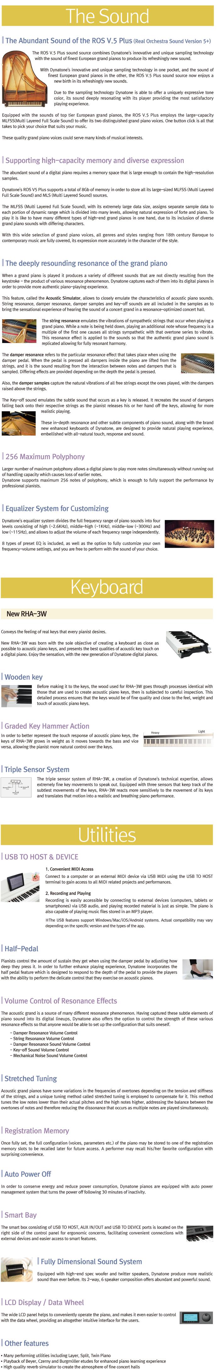 مشخصات پیانوی دیجیتال دایناتون مدل DPR-3500