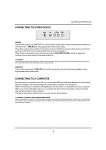 دفترچه راهنمای پیانو دیجیتال دایناتون مدل DPR-1650 صفحه 10