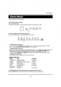 دفترچه راهنمای پیانو دیجیتال دایناتون مدل DPR-1650 صفحه 14