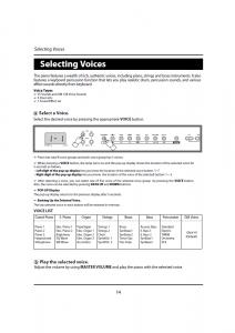 دفترچه راهنمای پیانو دیجیتال دایناتون مدل DPR-1650 صفحه 15