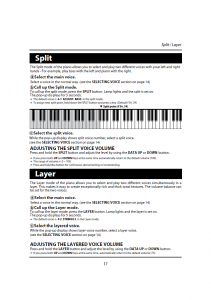 دفترچه راهنمای پیانو دیجیتال دایناتون مدل DPR-1650 صفحه 18