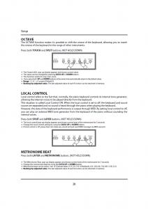 دفترچه راهنمای پیانو دیجیتال دایناتون مدل DPR-1650 صفحه 21