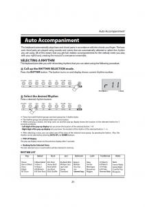 دفترچه راهنمای پیانو دیجیتال دایناتون مدل DPR-1650 صفحه 22