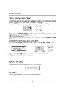 دفترچه راهنمای پیانو دیجیتال دایناتون مدل DPR-1650 صفحه 23