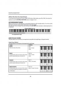 دفترچه راهنمای پیانو دیجیتال دایناتون مدل DPR-1650 صفحه 25