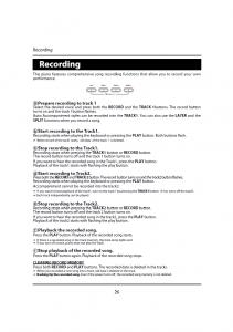 دفترچه راهنمای پیانو دیجیتال دایناتون مدل DPR-1650 صفحه 27