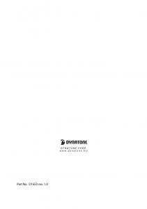 دفترچه راهنمای پیانو دیجیتال دایناتون مدل DPR-1650 صفحه 34