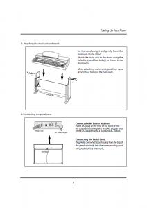 دفترچه راهنمای پیانو دیجیتال دایناتون مدل DPR-1650 صفحه 08
