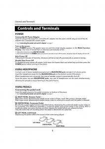 دفترچه راهنمای پیانو دیجیتال دایناتون مدل DPR-1650 صفحه 09