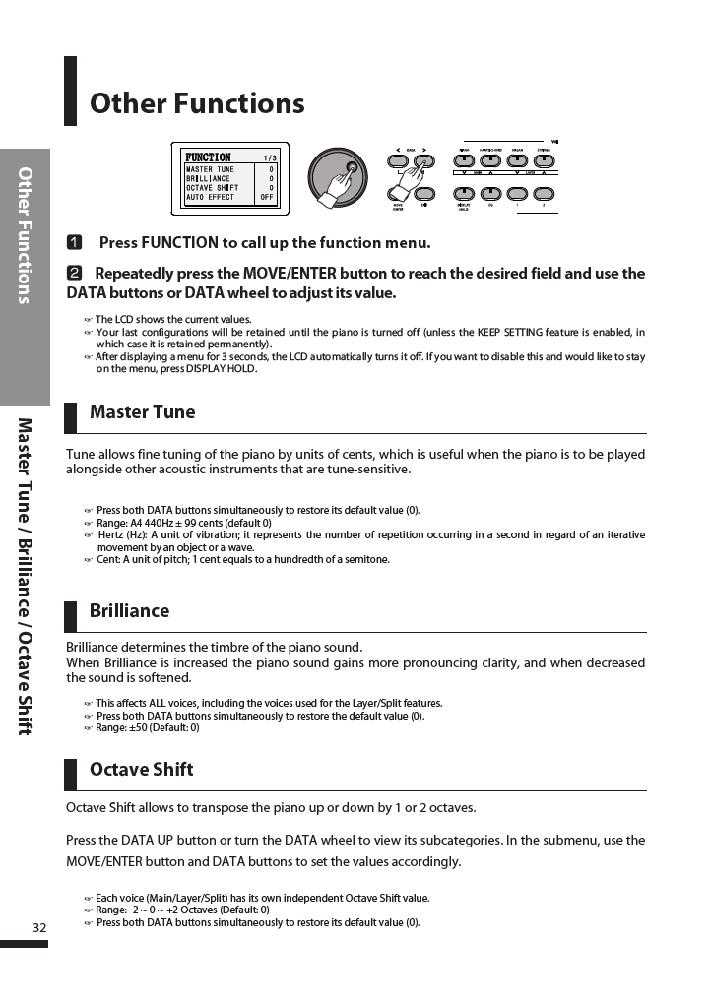 دفترچه راهنمای پیانو دیجیتال دایناتون مدل DPR-3500 صفحه 33