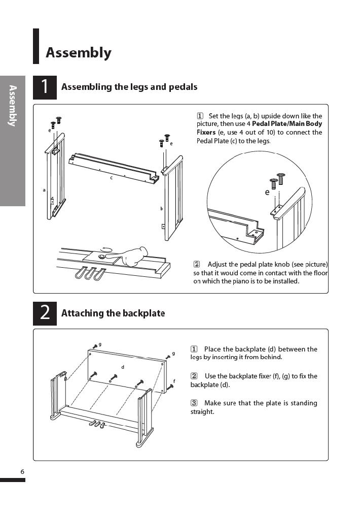 دفترچه راهنمای پیانو دیجیتال دایناتون مدل DPR-3500 صفحه 07