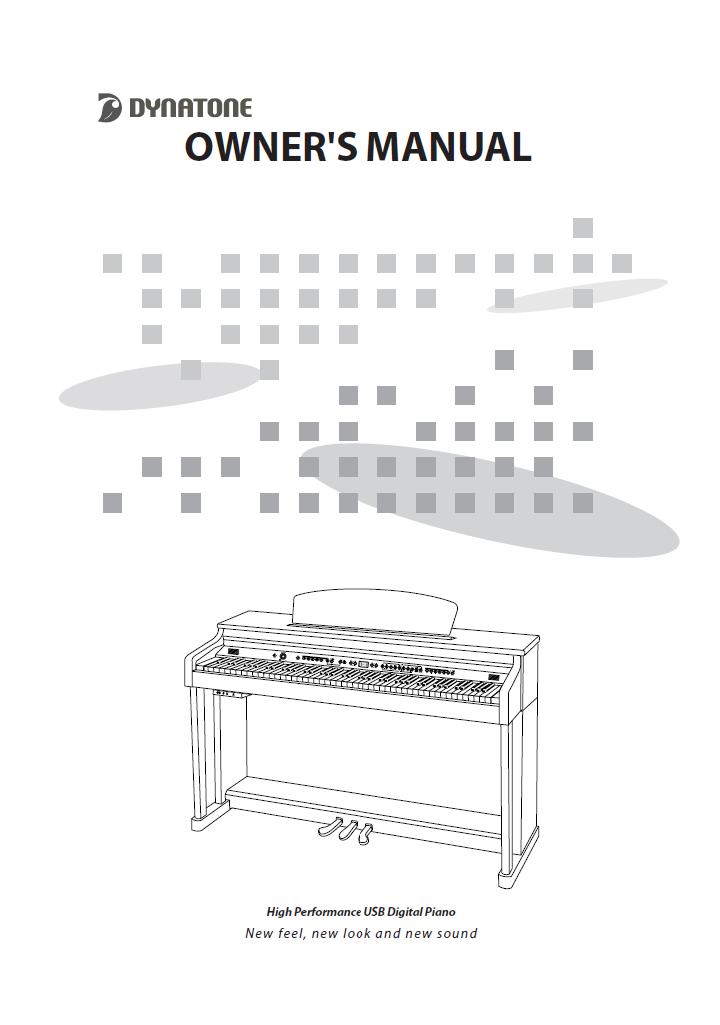 دفترچه راهنمای پیانو دیجیتال دایناتون مدل DPS-90H