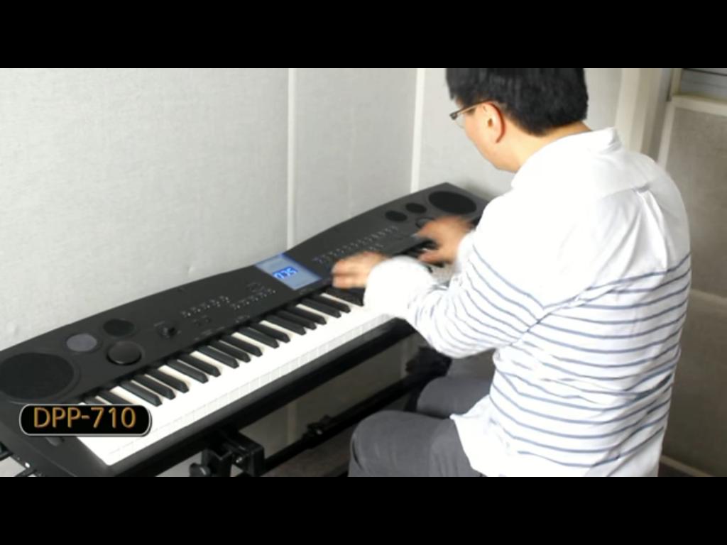 پیانوی دیجیتال دایناتون مدل DPP-710