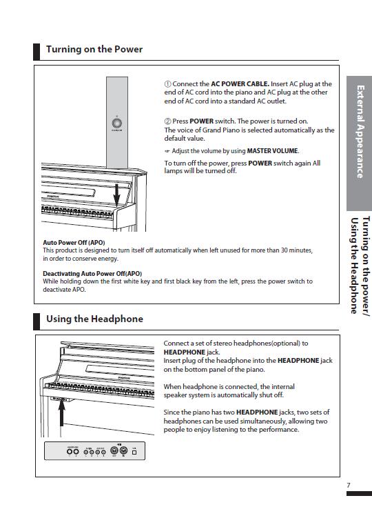 کاتالوگ پیانو دیجیتال دایناتون مدل SDP-600 صفحه 10