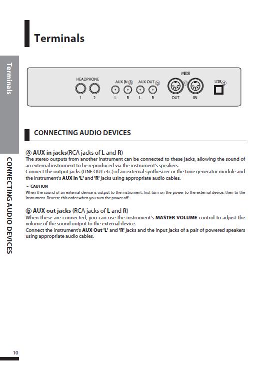 کاتالوگ پیانو دیجیتال دایناتون مدل SDP-600 صفحه 13