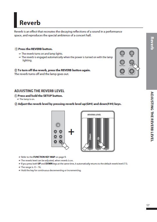 کاتالوگ پیانو دیجیتال دایناتون مدل SDP-600 صفحه 20