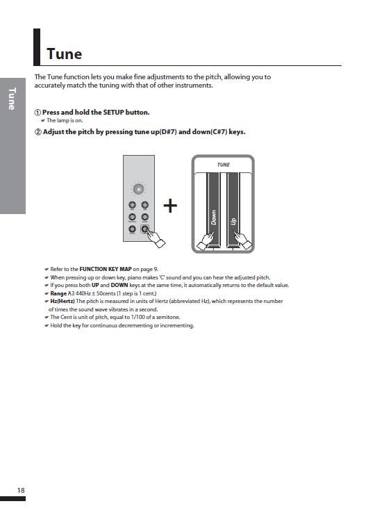 کاتالوگ پیانو دیجیتال دایناتون مدل SDP-600 صفحه 21