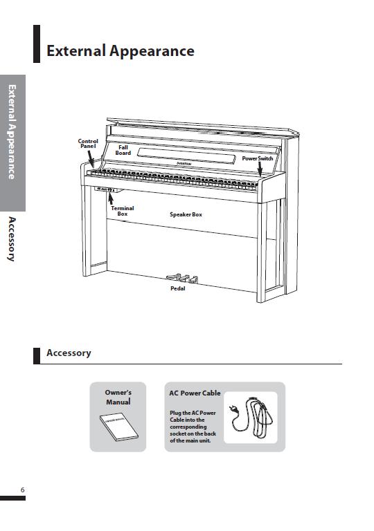 کاتالوگ پیانو دیجیتال دایناتون مدل SDP-600 صفحه 9