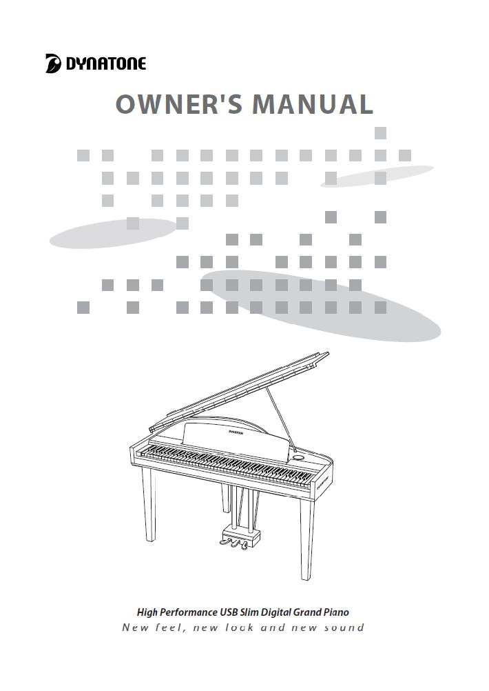 کاتالوگ پیانو دیجیتال دایناتون مدل SGP-600 صفحه 1
