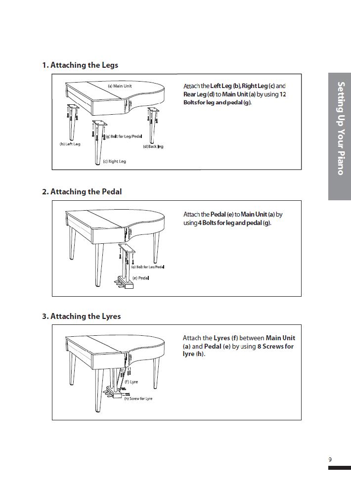کاتالوگ پیانو دیجیتال دایناتون مدل SGP-600 صفحه 10