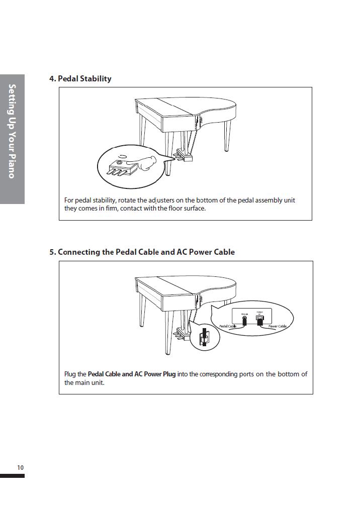 کاتالوگ پیانو دیجیتال دایناتون مدل SGP-600 صفحه 11