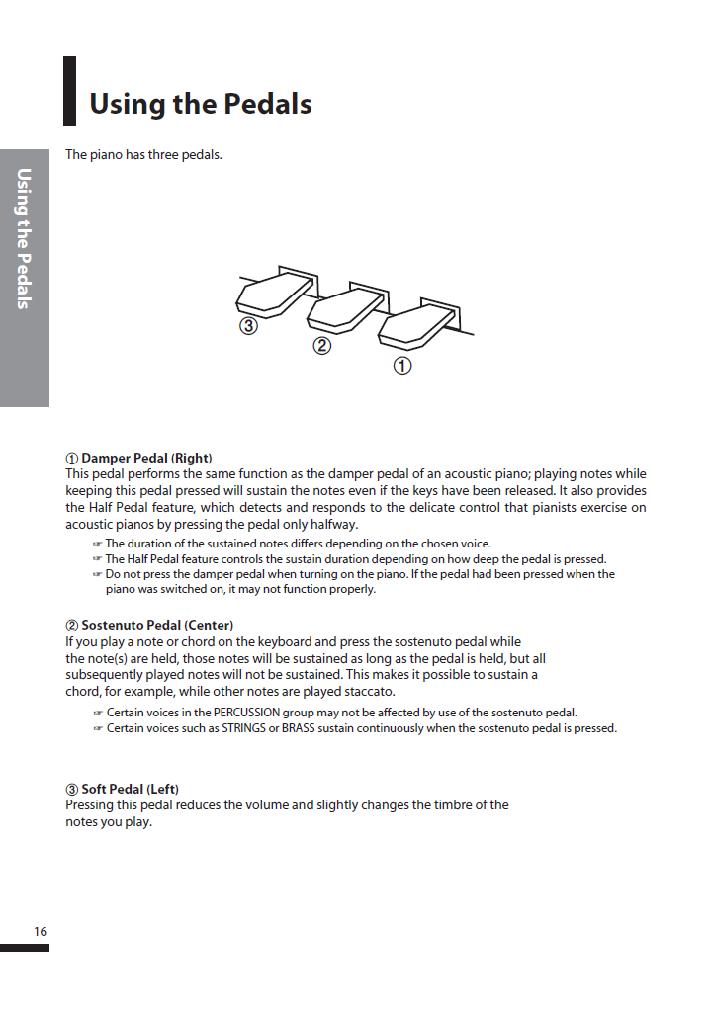 کاتالوگ پیانو دیجیتال دایناتون مدل SGP-600 صفحه 17