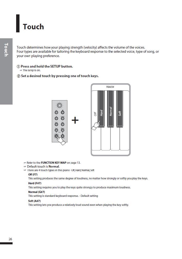 کاتالوگ پیانو دیجیتال دایناتون مدل SGP-600 صفحه 27