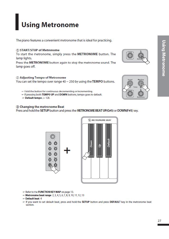 کاتالوگ پیانو دیجیتال دایناتون مدل SGP-600 صفحه 28