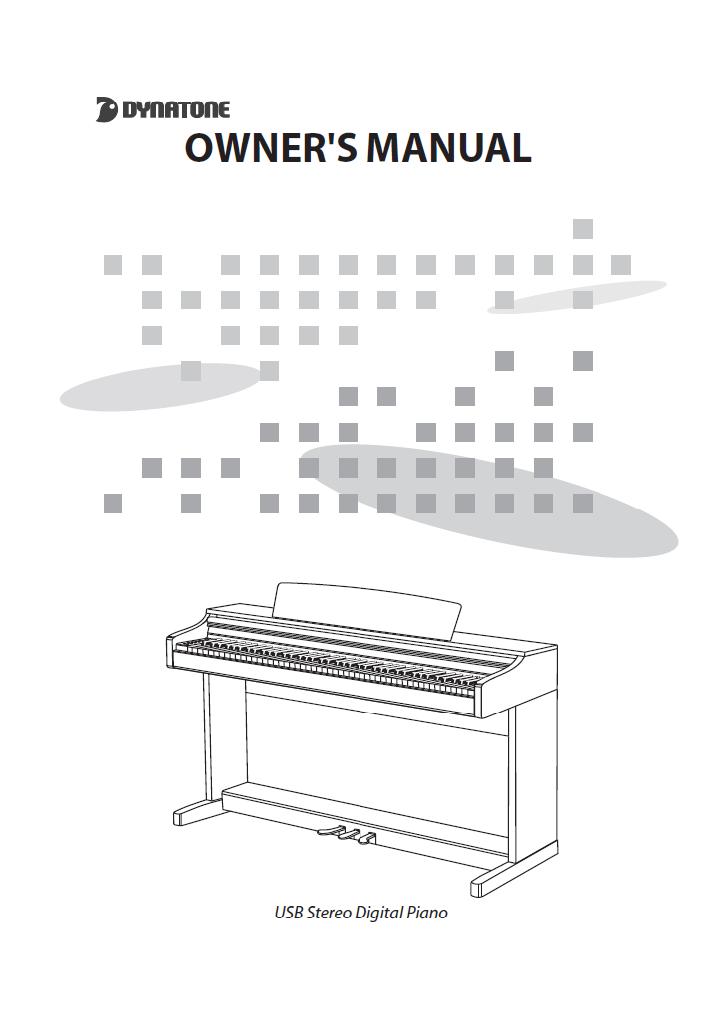 دفترچه راهنمای پیانو دیجیتال دایناتون مدل SLP-250