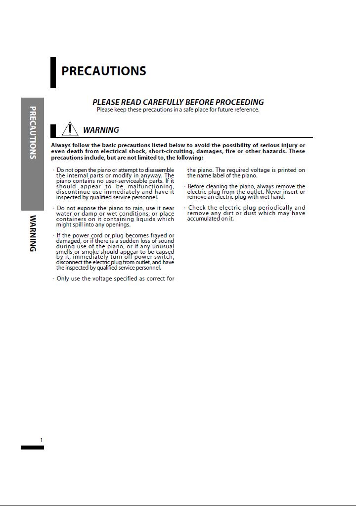 دفترچه راهنمای پیانو دیجیتال دایناتون مدل SLP-50 صفحه 01