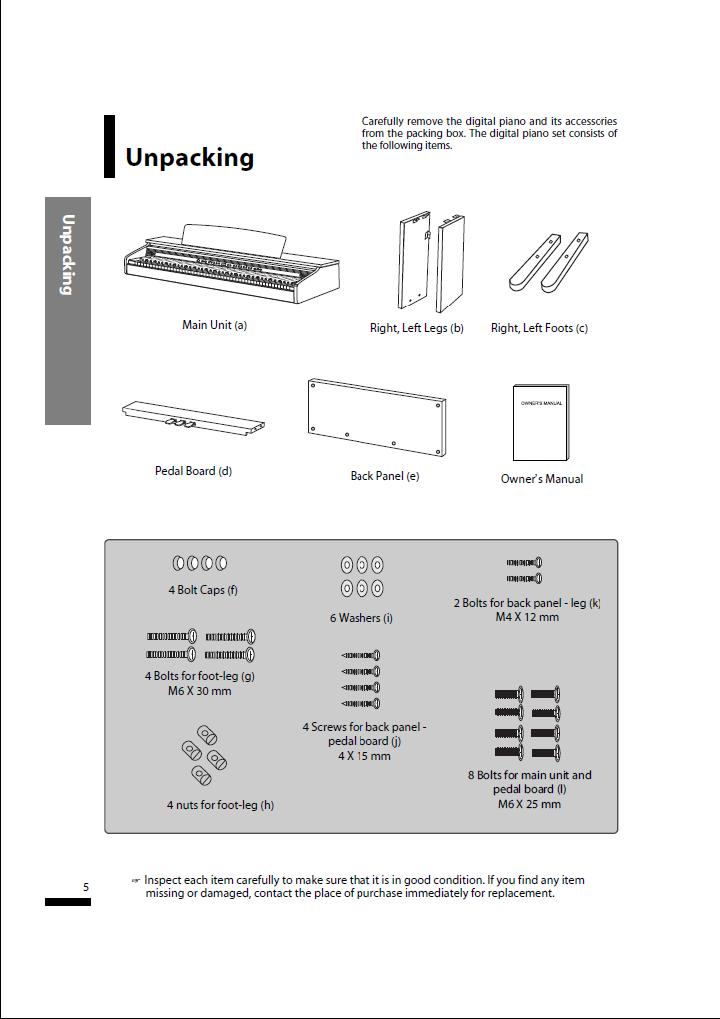 دفترچه راهنمای پیانو دیجیتال دایناتون مدل SLP-50 صفحه 05