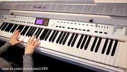 پیانوی دیجیتال دایناتون مدل VGP-3000