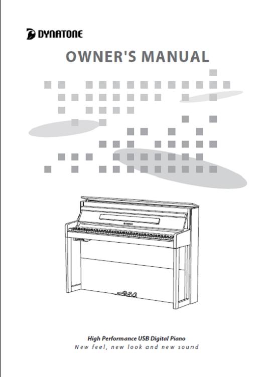 کاتالوگ پیانو دیجیتال دایناتون مدل SDP-600 صفحه 1
